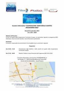 cooperazione territoriale europea programma med