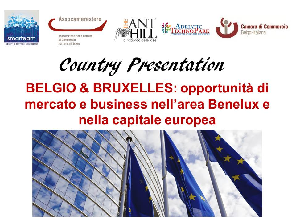 Country Presentation BELGIO & BRUXELLES