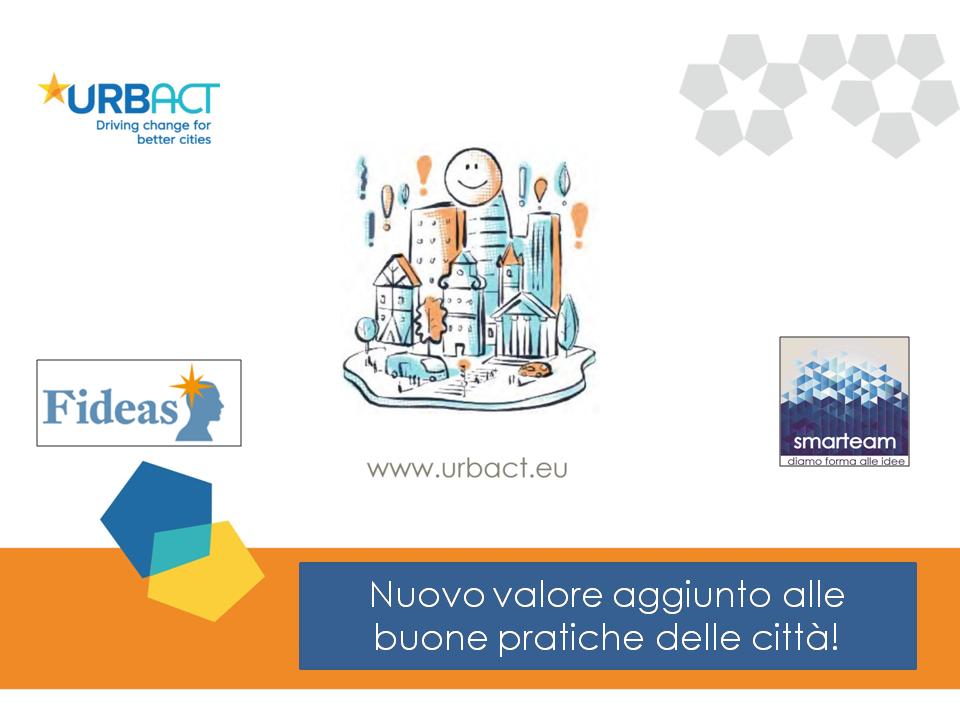 Bando URBACT buone pratiche: un'opportunità per le città europee