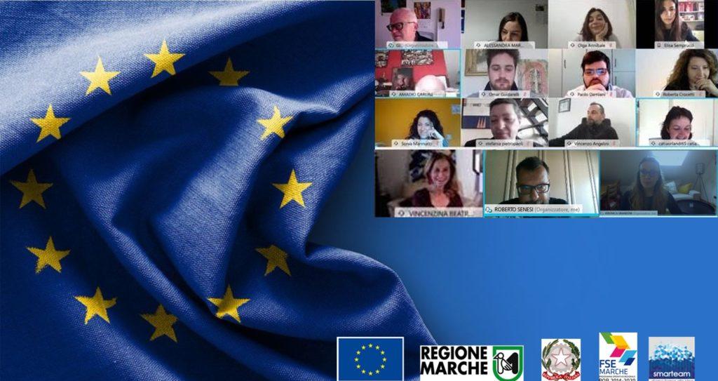 SMARTEAM forma nuovi europrogettisti.  Concluso con successo e plausi il Master Europrogettazione svolto a distanza durante periodo emergenziale Covid
